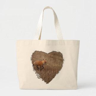 Fox on the Run Canvas Bag