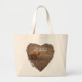 Fox on the Run; Customizable Bags