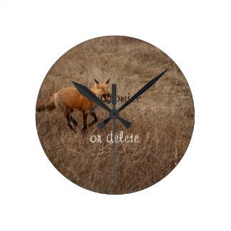 Fox on the Run; Customizable Clocks