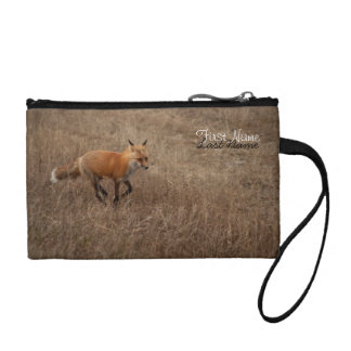 Fox on the Run; Customizable Coin Wallet