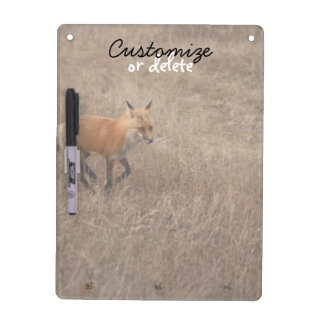 Fox on the Run; Customizable Dry-Erase Whiteboard