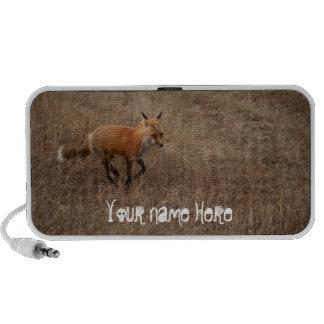 Fox on the Run; Customizable Travelling Speaker