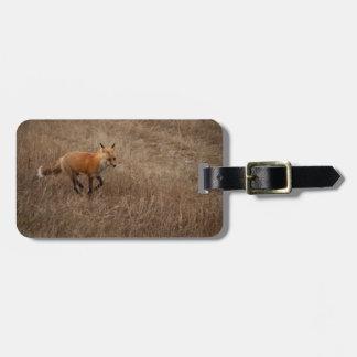 Fox on the Run Luggage Tag