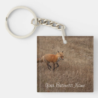 Fox on the Run; Promotional Acrylic Key Chain
