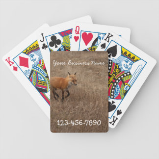 Fox on the Run; Promotional Bicycle Playing Cards