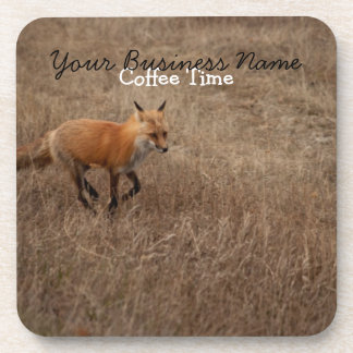 Fox on the Run; Promotional Drink Coaster