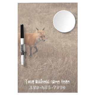 Fox on the Run; Promotional Dry-Erase Board
