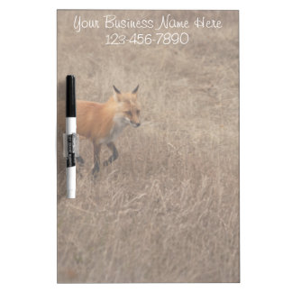 Fox on the Run; Promotional Dry Erase Whiteboard