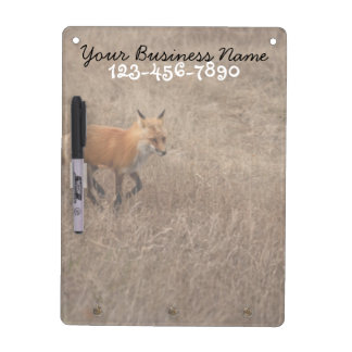 Fox on the Run; Promotional Dry Erase Whiteboards