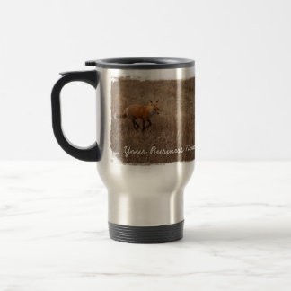 Fox on the Run; Promotional Travel Mug