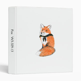Fox Patrol Binder