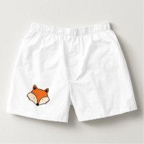 Fox pattern boxers