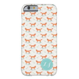 Fox Pattern Cute Case