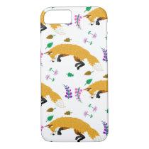 Fox Pattern iPhone 8/7 Case