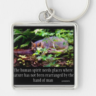 FOX PHILOSOPHY KEY CHAIN