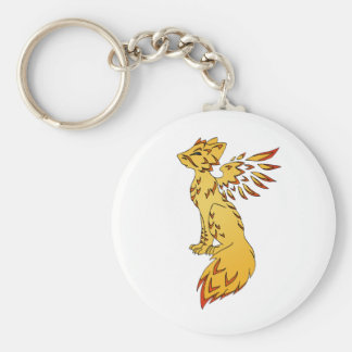 Fox Phoenix Llavero Redondo Tipo Pin