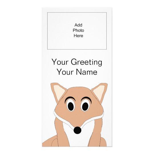 Fox Photo Card