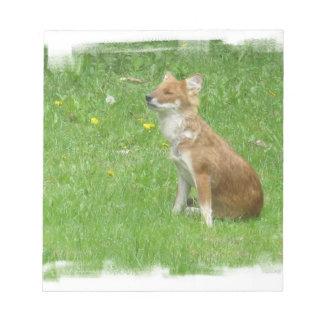 Fox Photo Notepad