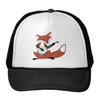 Fox Playing the Banjo Trucker Hat