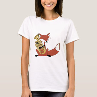 Fox Playing the Euphonium T-Shirt
