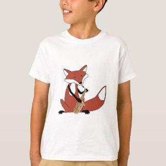 Fox Playing the Saxophone T-Shirt