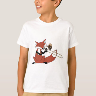 Fox Playing the Trombone T-Shirt