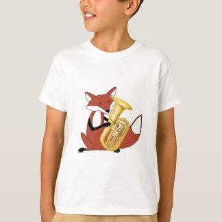 Fox Playing the Tuba T-Shirt