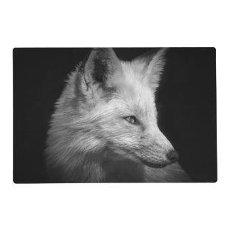 Fox Portrait Laminated Placemats