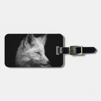 Fox Portrait Luggage Tag