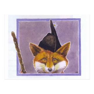 Fox Postcard Asturian Fox Asturias Spain