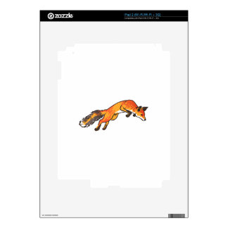 Fox Pounce Decals For iPad 2
