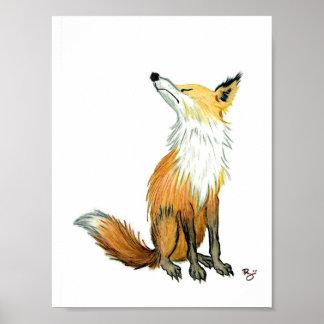 Fox presumido póster