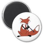 Fox que juega el Clarinet Imanes