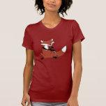 Fox que juega el Oboe Camisetas