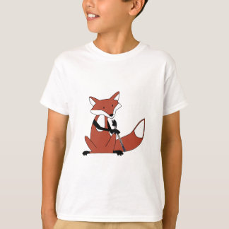 Fox que juega el Oboe Playera
