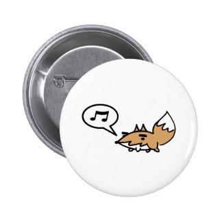 Fox que silba pins