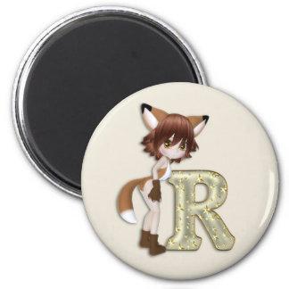 Fox R 2 Inch Round Magnet