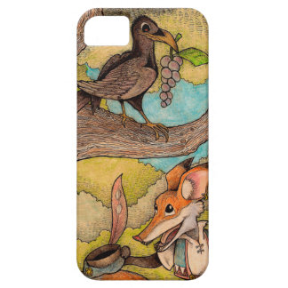 Fox & Raven from Aesop's Fables iPhone SE/5/5s Case