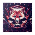 Fox rojo azulejos cerámicos
