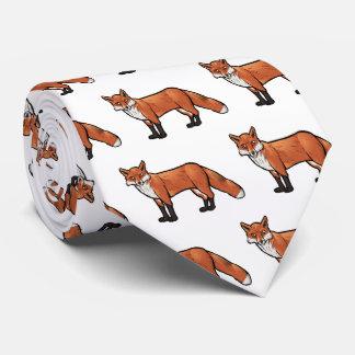 Fox rojo corbata