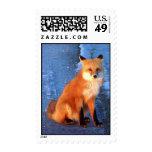 Fox rojo de Alaska Sellos