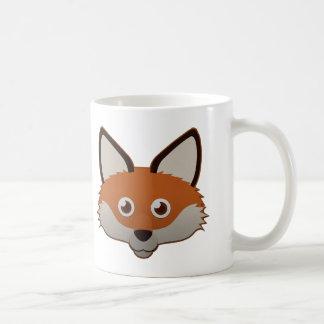 Fox rojo de papel taza básica blanca