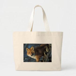 Fox rojo en el naufragio Courtney Ford Bolsas De Mano