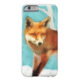 Fox rojo funda de iPhone 6 barely there