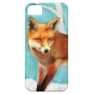 Fox rojo iPhone 5 carcasa