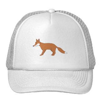 Fox. rojo gorro de camionero