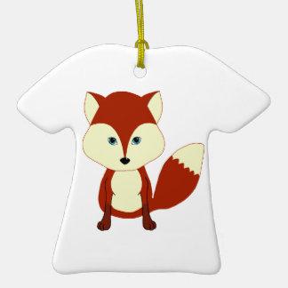 Fox rojo lindo adorno