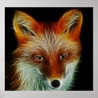 Fox rojo posters