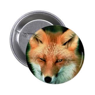 Fox rojo pin