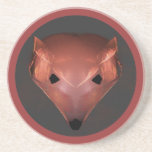 Fox rojo posavasos cerveza